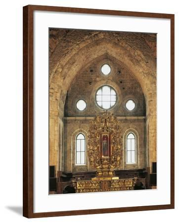 High Altar (1740) in San Giovanni in Fiore Abbey--Framed Photographic Print