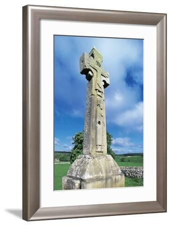 High Cross known as St Tola's Cross--Framed Photographic Print