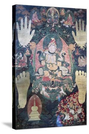 Gnya-Khri Btsan-Po--Stretched Canvas Print