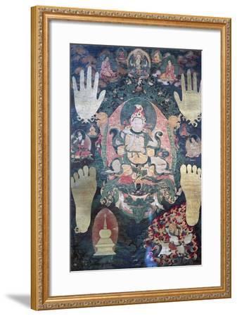 Gnya-Khri Btsan-Po--Framed Giclee Print