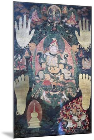 Gnya-Khri Btsan-Po--Mounted Giclee Print
