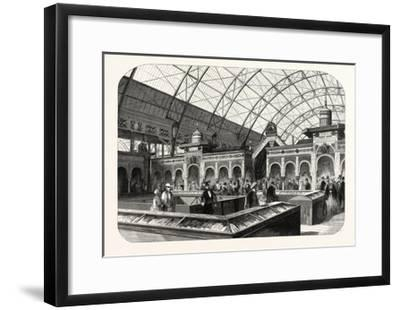 Industry Exhibition Universal. the Oriental Products. Paris--Framed Giclee Print