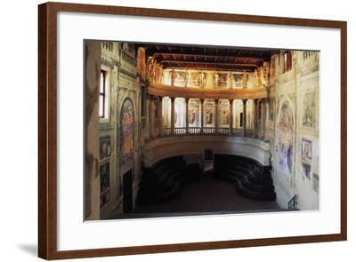 Interior of the Theatre in the Style of the Ancients--Framed Photographic Print