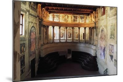 Interior of the Theatre in the Style of the Ancients--Mounted Photographic Print