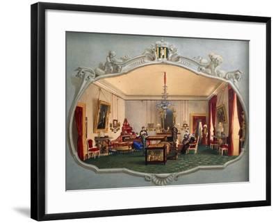 Interior of Trivulzio House--Framed Giclee Print