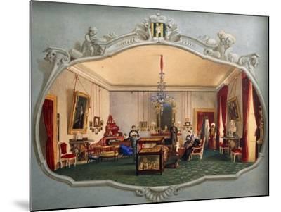 Interior of Trivulzio House--Mounted Giclee Print