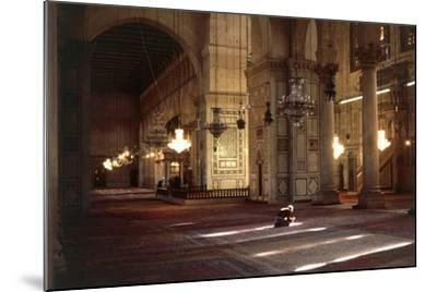 Interior of Umayyad Mosque or Great Mosque of Damascus--Mounted Photographic Print