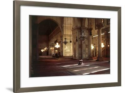 Interior of Umayyad Mosque or Great Mosque of Damascus--Framed Photographic Print