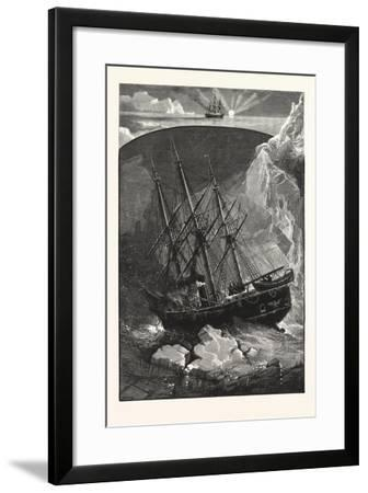 In Search of the North Pole--Framed Giclee Print