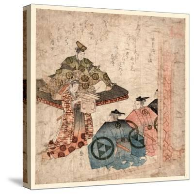 Hojo Yasutoki--Stretched Canvas Print