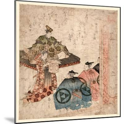 Hojo Yasutoki--Mounted Giclee Print