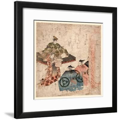 Hojo Yasutoki--Framed Giclee Print