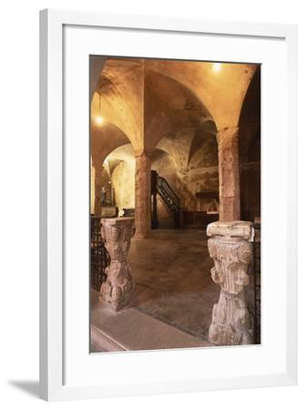 Interiors of a Church--Framed Photographic Print