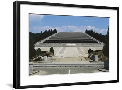 Italian Military Sacrarium of Redipuglia--Framed Photographic Print
