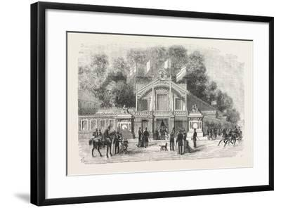 International Exhibition of Life-Saving Apparatus at Brussels: the Principal Entrance--Framed Giclee Print
