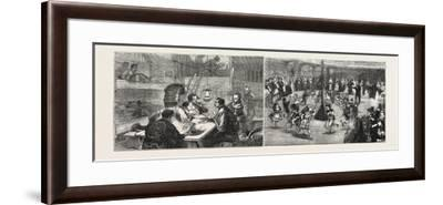 Interior of the Japanese Quarters--Framed Giclee Print