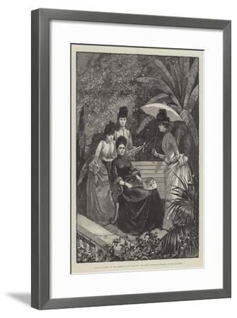 Life at San Remo--Framed Giclee Print