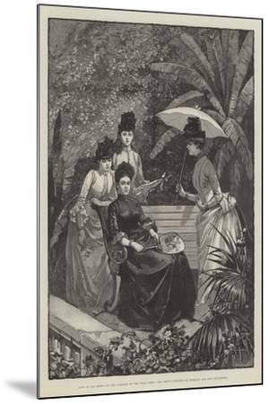 Life at San Remo--Mounted Giclee Print