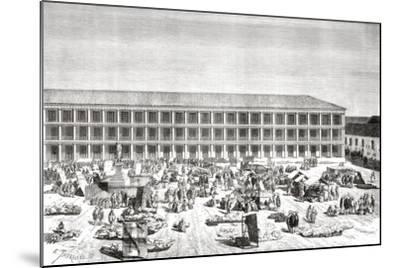 La Casa De Los Portales--Mounted Giclee Print