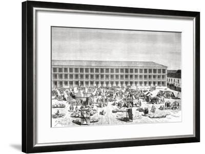 La Casa De Los Portales--Framed Giclee Print