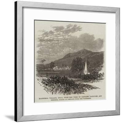 Machurda Village--Framed Giclee Print