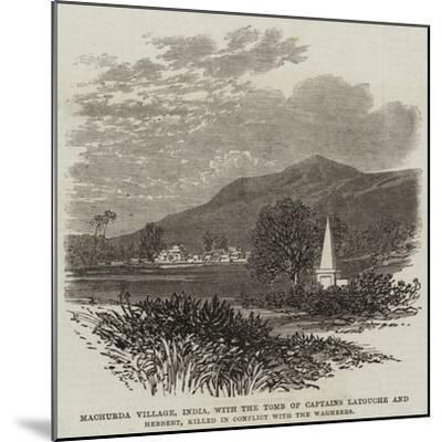 Machurda Village--Mounted Giclee Print
