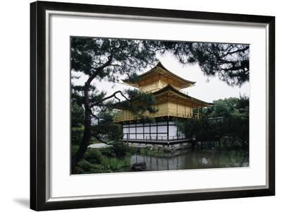 Kinkakuji or Temple of the Golden Pavilion Is Reliquary of Rokuonji Temple--Framed Giclee Print