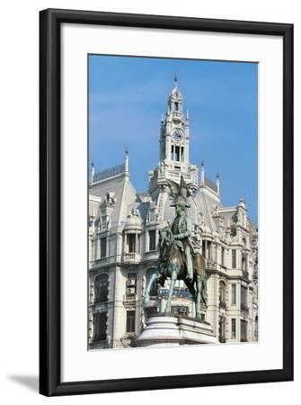 Liberdade Square (Liberty or Freedom Square)--Framed Photographic Print