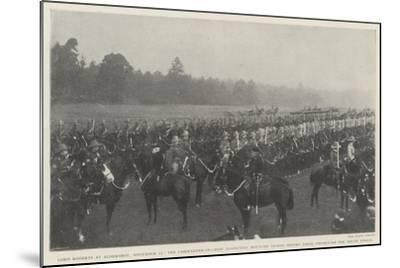 Lord Roberts at Aldershot--Mounted Giclee Print