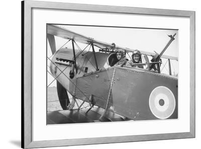 Lieutenant Brown (Left) and Lieutenant G Finlay (Right)--Framed Photographic Print