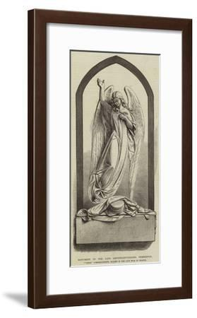 Monument to the Late Lieutenant-Colonel Pemberton--Framed Giclee Print