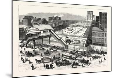 New York--Mounted Giclee Print