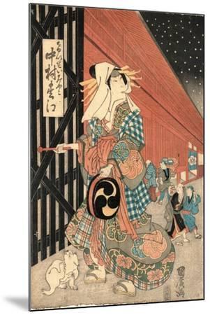 Nakamaru Matsue No Keisei Miyako--Mounted Giclee Print