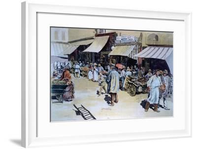 Merchant of Four Saisons--Framed Giclee Print