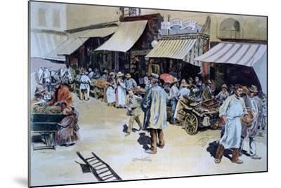 Merchant of Four Saisons--Mounted Giclee Print