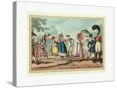 Monstrosities of 1818--Stretched Canvas Print