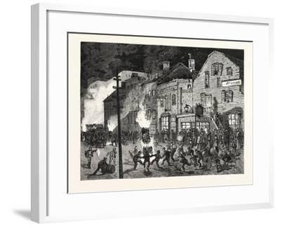 New York: after the Closing of the Polls; Demonstrations of Young America in the Sixth Ward. U.S.--Framed Giclee Print