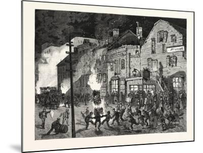 New York: after the Closing of the Polls; Demonstrations of Young America in the Sixth Ward. U.S.--Mounted Giclee Print