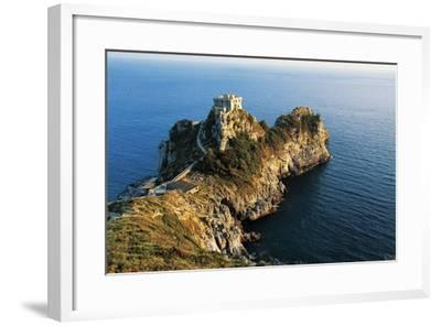Medieval Watchtower at Conca Cape--Framed Giclee Print