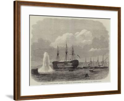 Meeting of the British Association--Framed Giclee Print