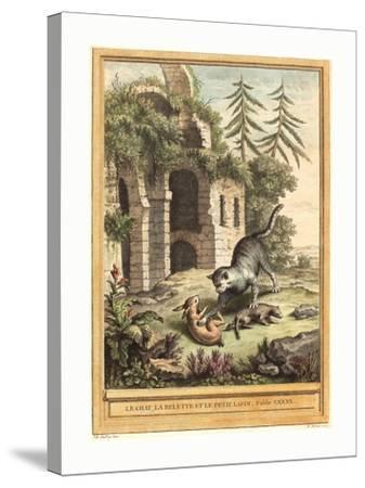 Martin Marvie after Jean Baptiste Oudry (French--Stretched Canvas Print