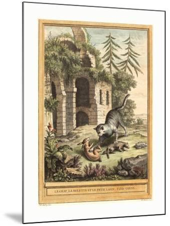 Martin Marvie after Jean Baptiste Oudry (French--Mounted Giclee Print
