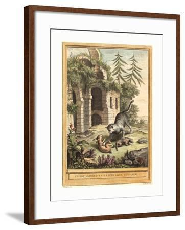 Martin Marvie after Jean Baptiste Oudry (French--Framed Giclee Print