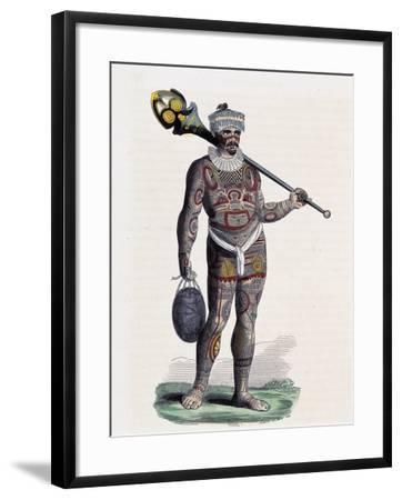 Noukahiwan Man (Oceania)--Framed Giclee Print