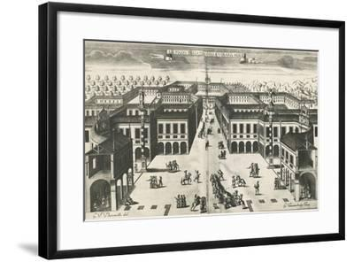 Piazza of Venaria Reale--Framed Giclee Print