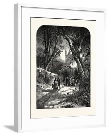 O Fair as Hope Was the New Year's Morn--Framed Giclee Print