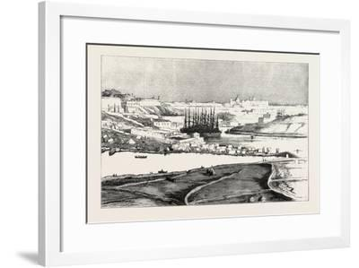 Our Indian Contingent at Malta: Valetta Indian Encampment--Framed Giclee Print