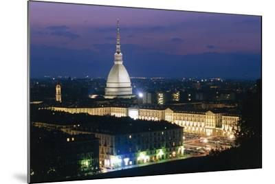 Night View of Turin--Mounted Photographic Print