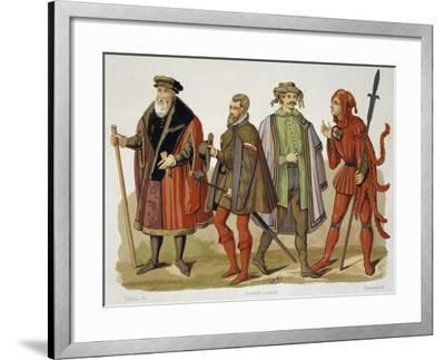 Official Robes of Lord Mayor of Cologne--Framed Giclee Print