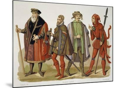 Official Robes of Lord Mayor of Cologne--Mounted Giclee Print